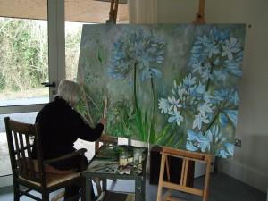 Doreen Brown at work